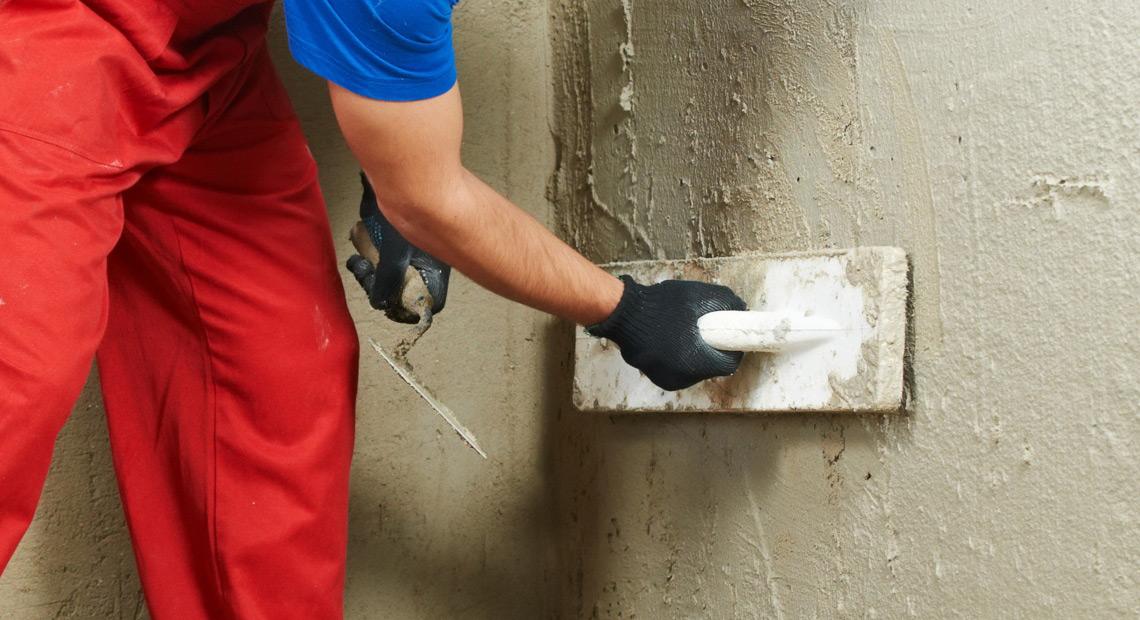 Выравнивание стены штукатуркой своими руками 683